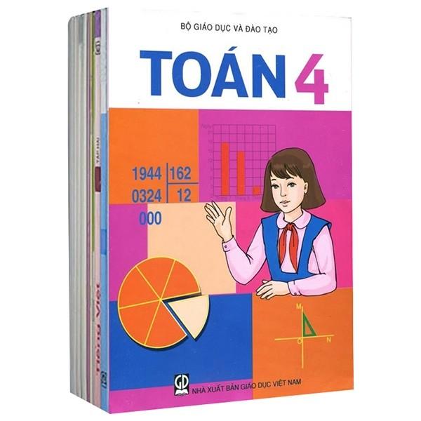 Bộ Sách Giáo Khoa Lớp 4 - Sách Bài Học (Bộ 9 Cuốn)